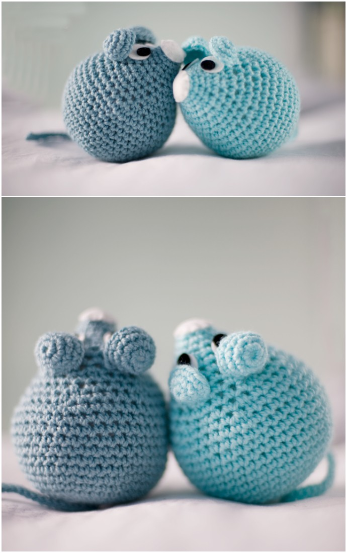 A Mouse Free Crochet Pattern