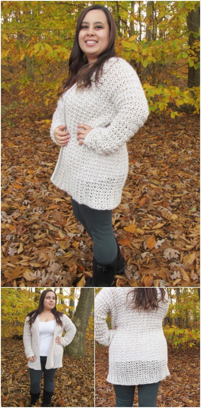 Comfy Cozy Oversized Free Crochet Cardigan