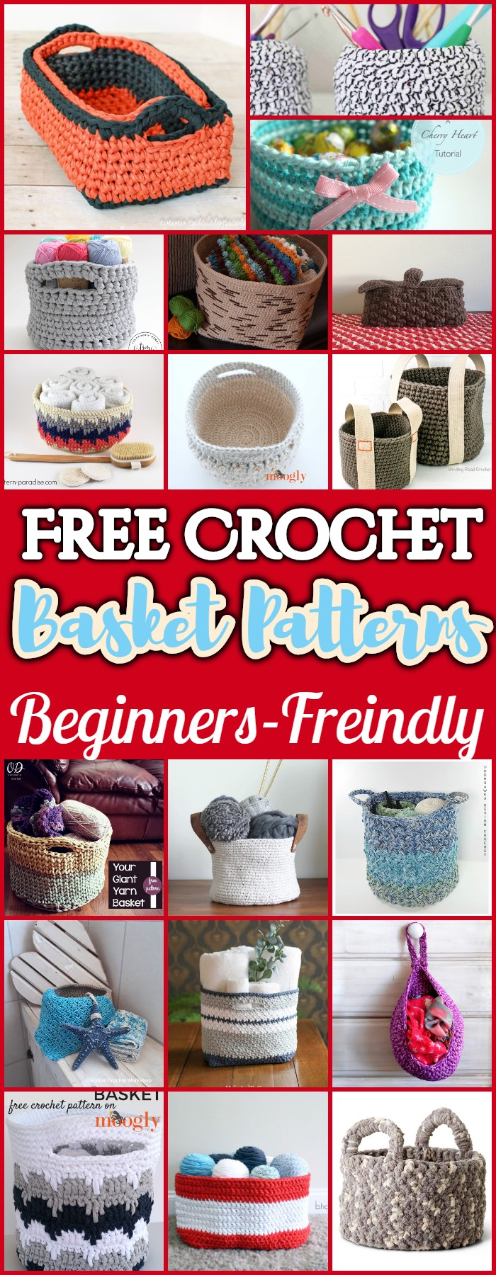 Crochet Basket Patterns