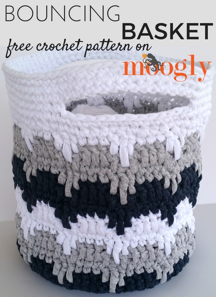 Free Crochet Bouncing Basket