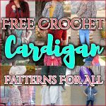 Free Crochet Cardigan Patterns For All