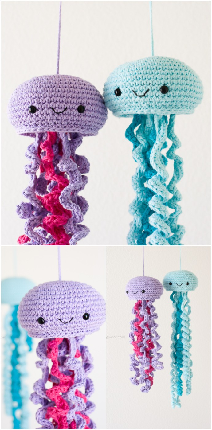 Free Crochet Jellyfish