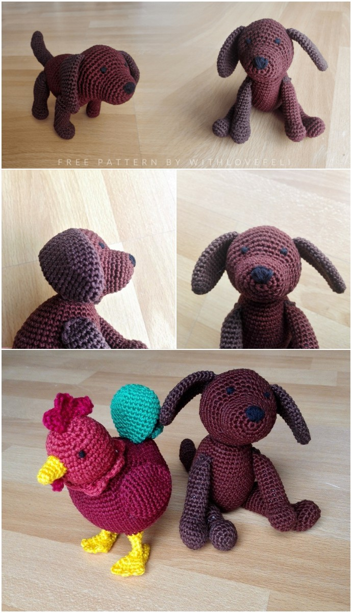 Free Crochet Pattern Dog