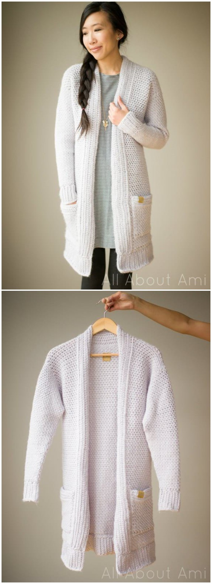 Free Crochet Pattern The Granite Cardigan