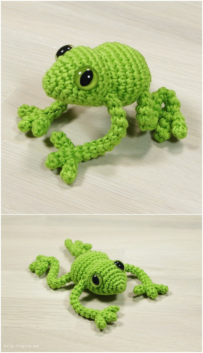 Free Crochet Pattern Tree Frog