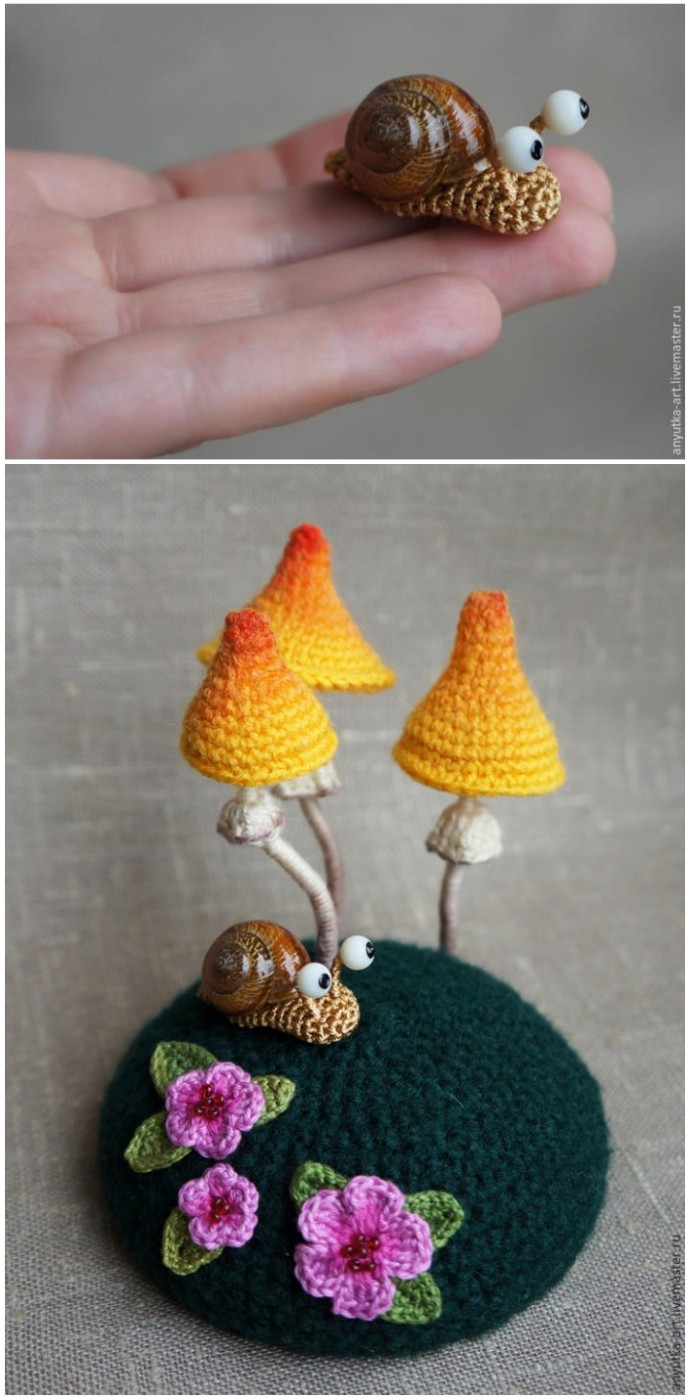 Free Crochet Patterns Amigurumi Snails