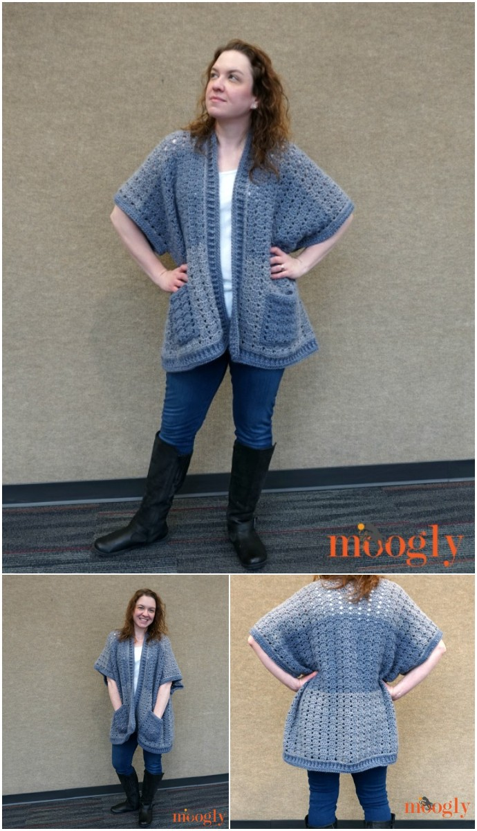 Free Crochet Riverbend Cardigan