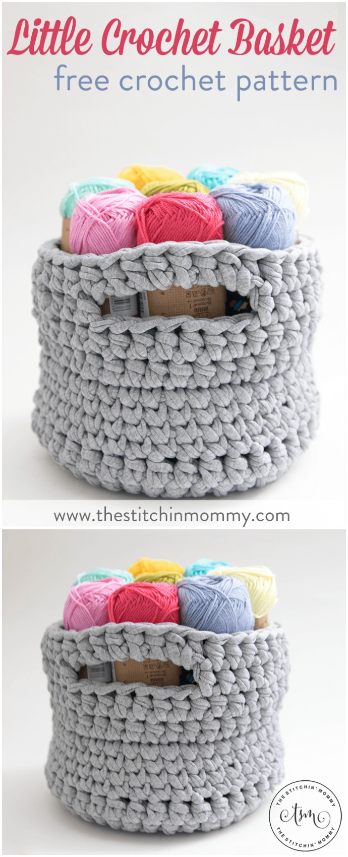 Little Crochet Basket Free Crochet Pattern