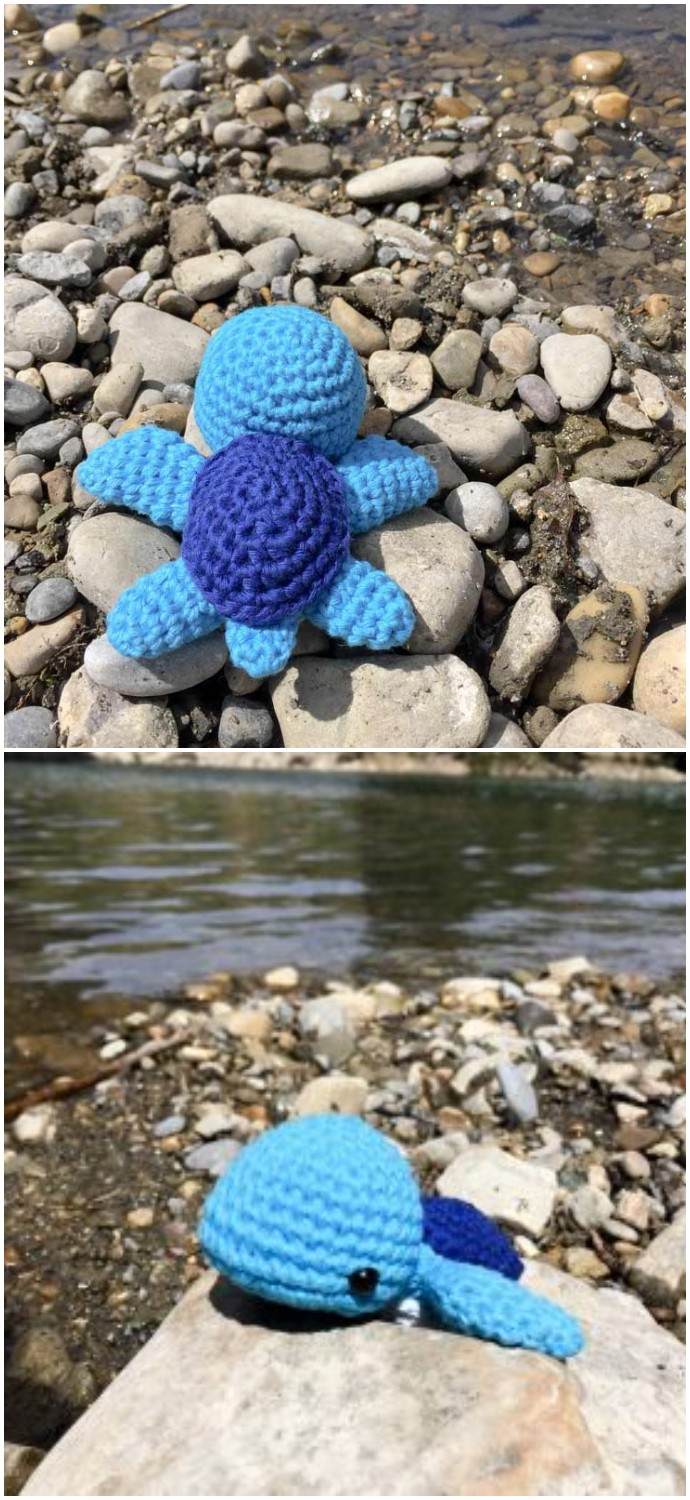 Sea Turtle Amigurumi Free Crochet