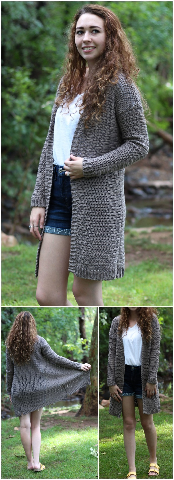 The Campfire Cardigan Free Crochet