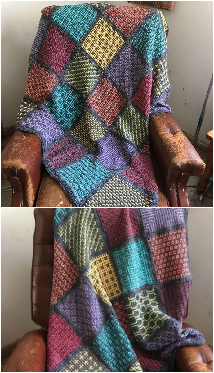 Wacky Weave Squares Cal