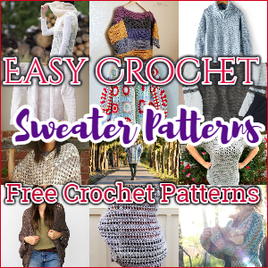Crochet Sweater Patterns