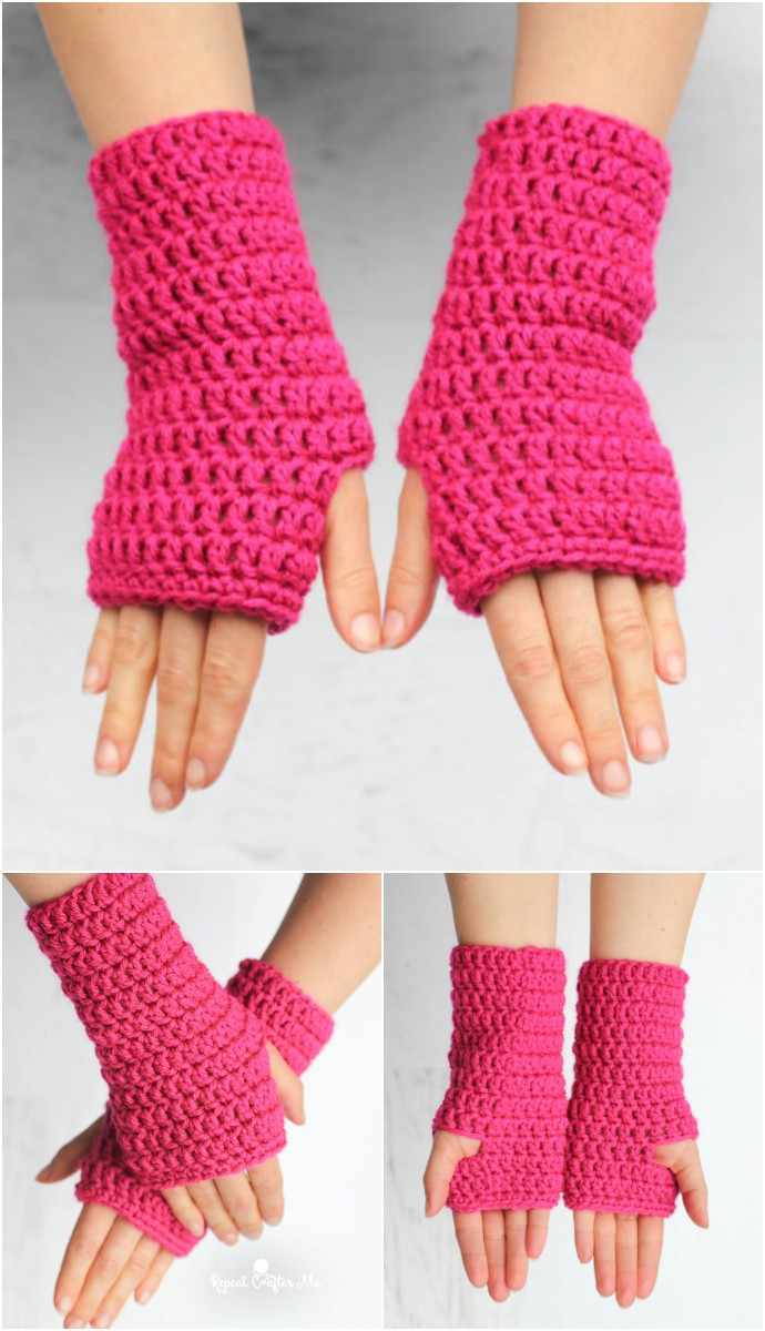 Fingerless Free Pattern