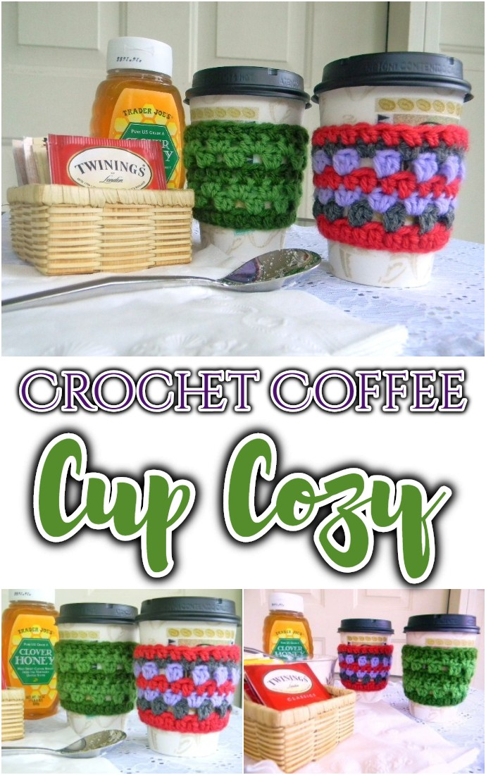Free Crochet Coffee Cup Cozy