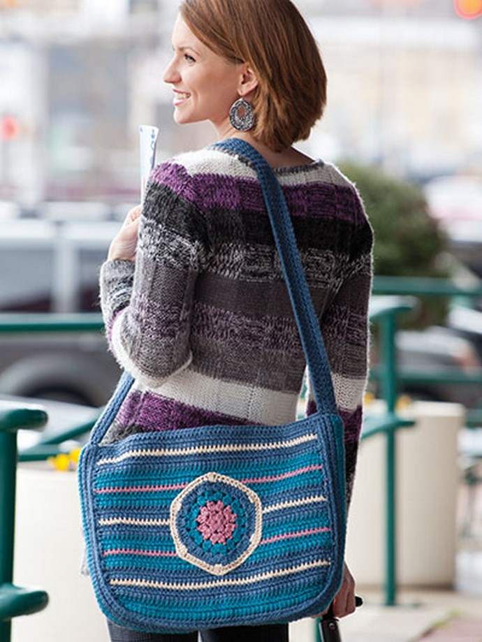 Free Crochet Eco-friendly Travel Bag