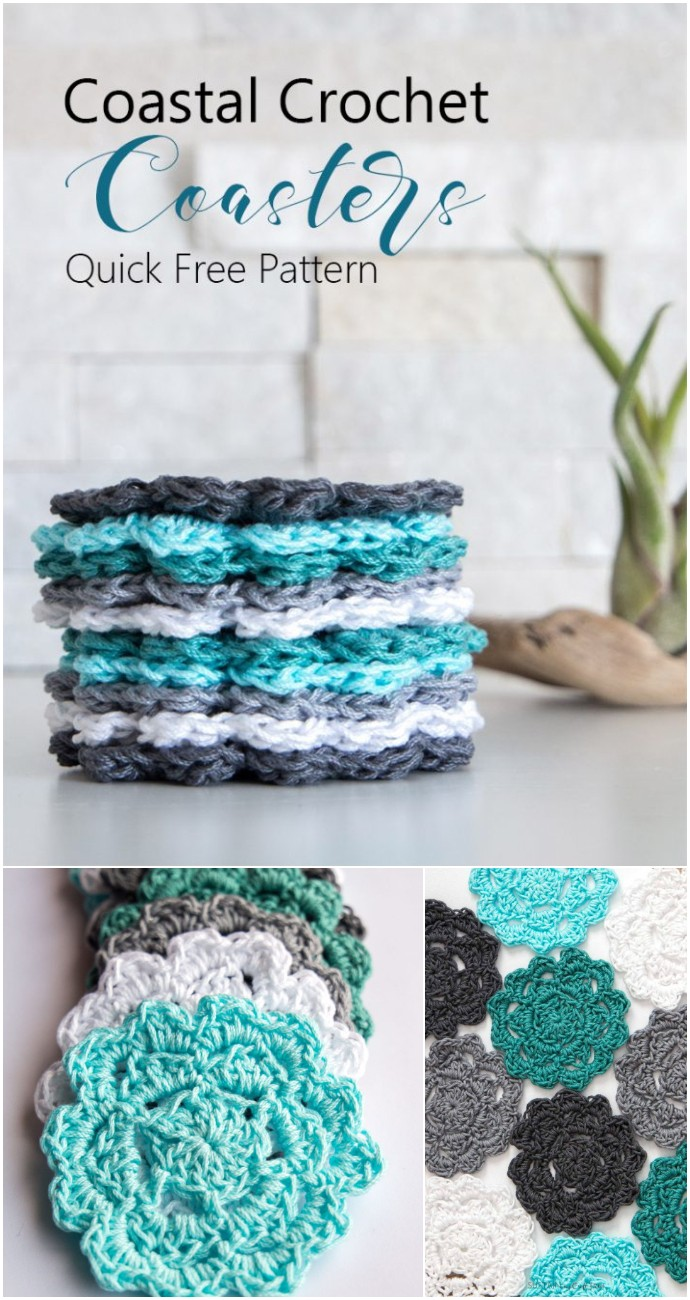 Free Easy Crochet Coaster Pattern