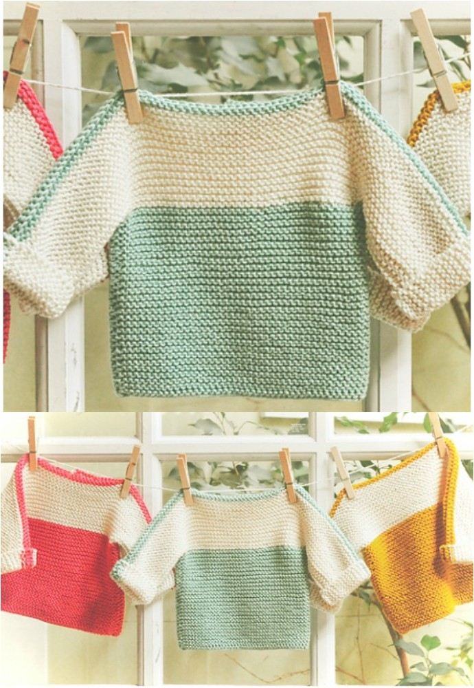 French Macaroon Free Knitting Pattern