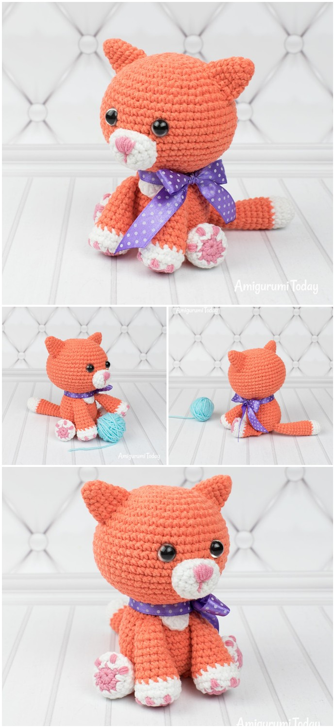 Ginger Cat Free Crochet Pattern