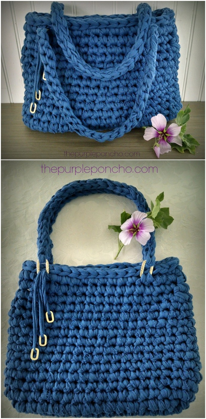 Island Breeze Bag Free Crochet