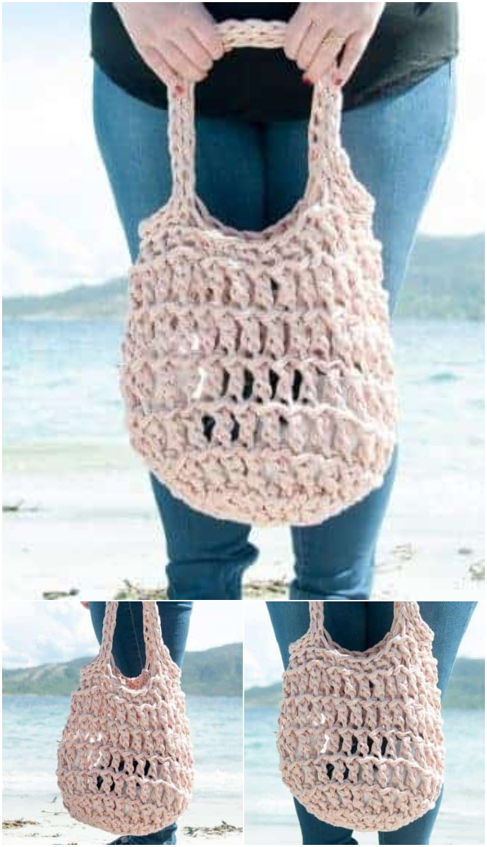 Litus Beach Bag Free Crochet Pattern