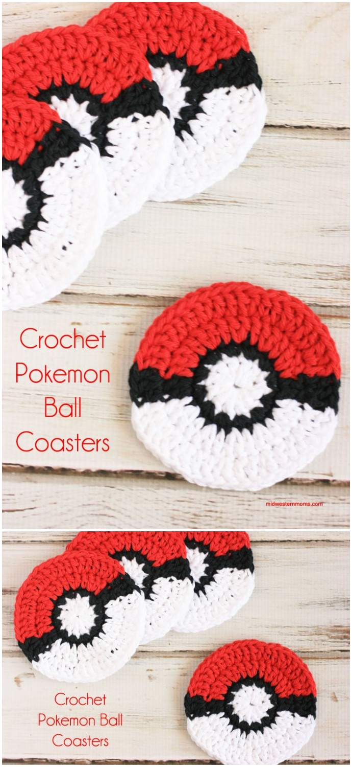Pokemon Ball Coaster Pattern