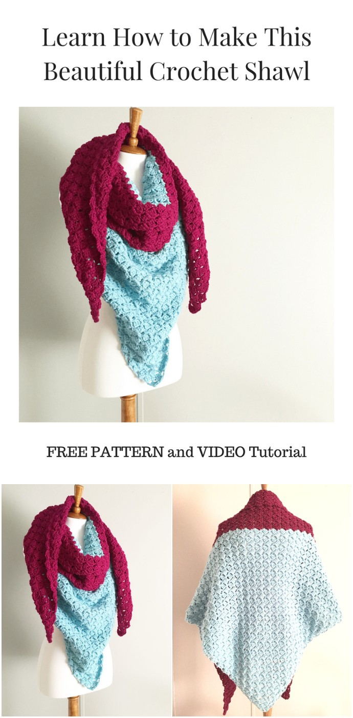 The Beautiful Free Crochet Starlette Shawl