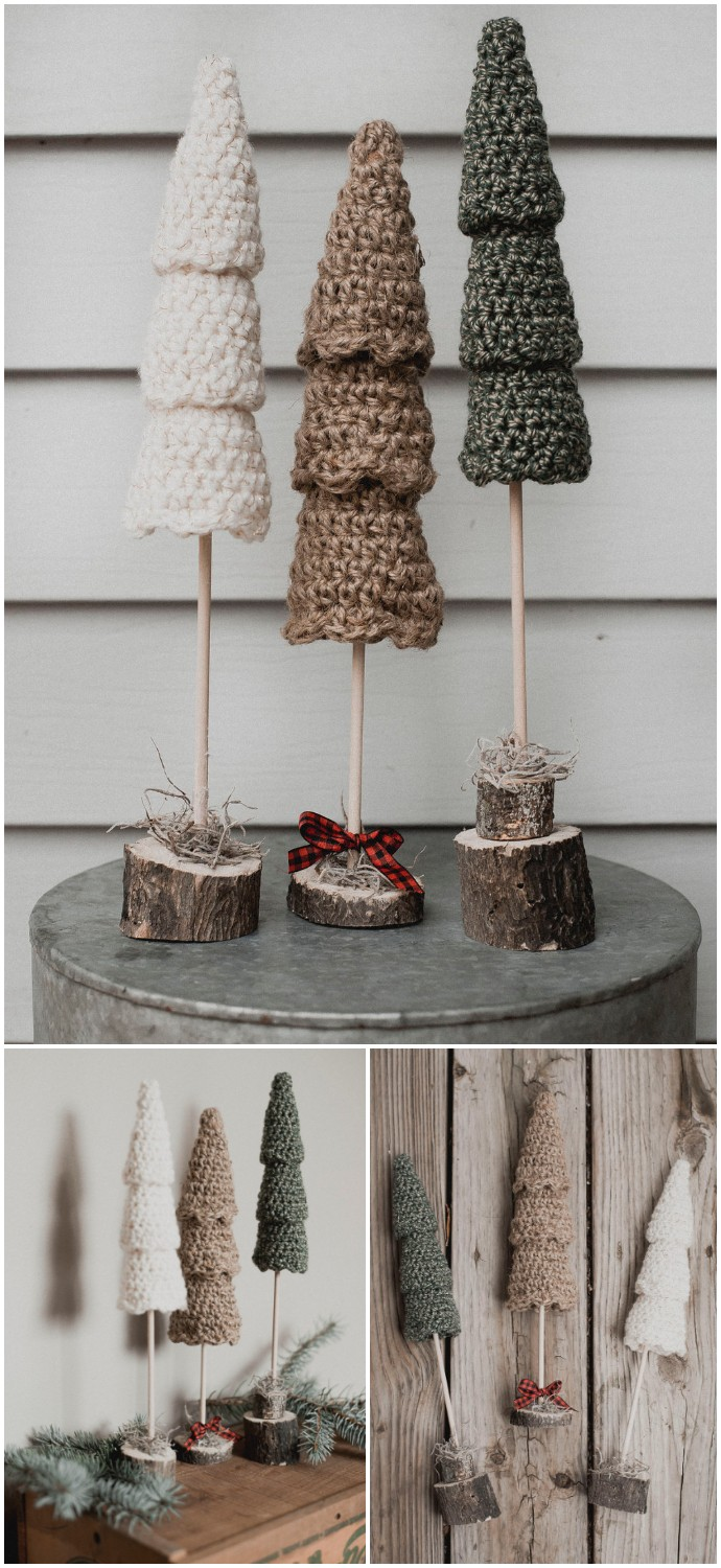 The Rustic Christmas Tree Set