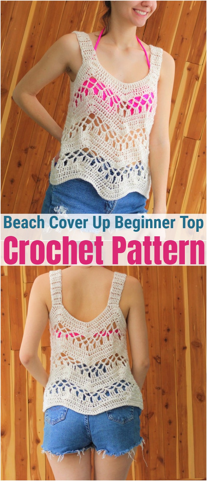 Beach Cover Up Beginner Top Pattern