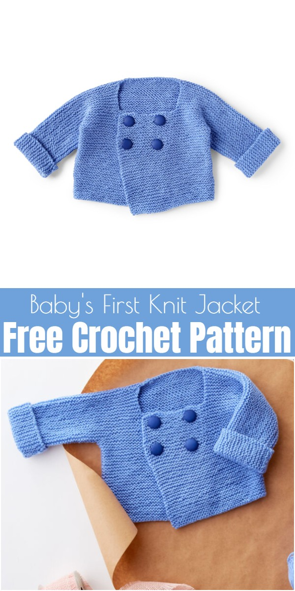 Baby's First Knit Jacket