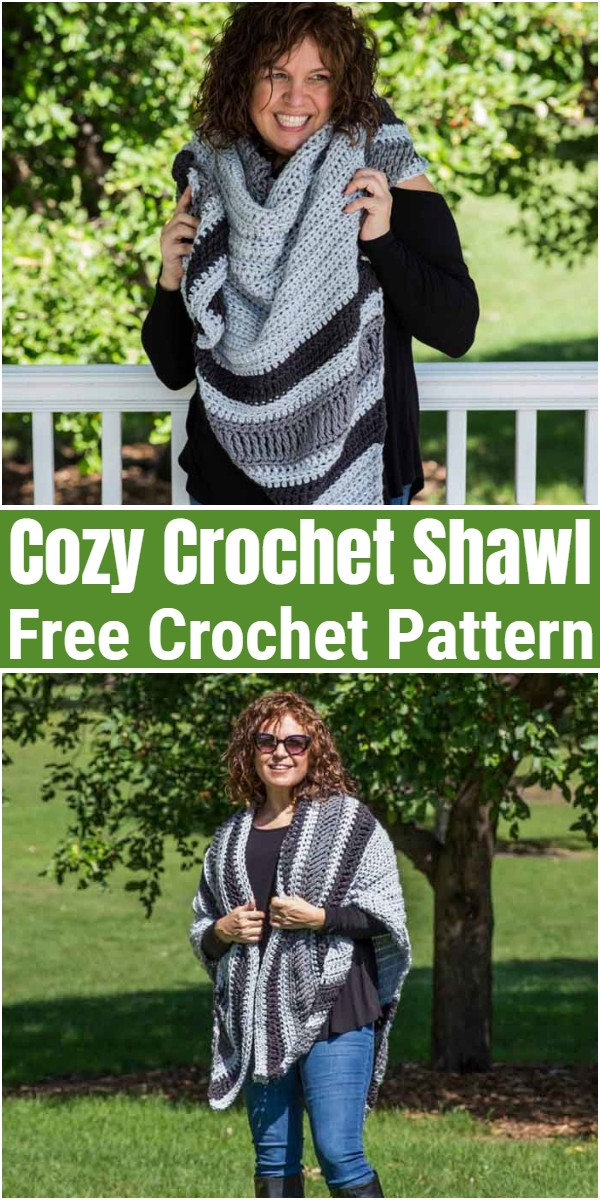 Cozy Crochet Shawl