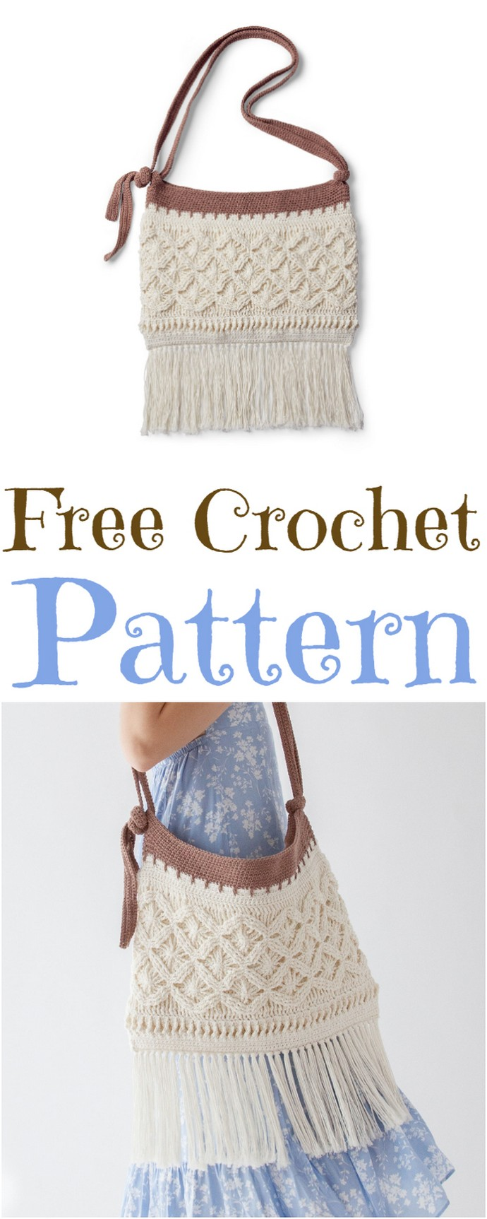 Free Intermediate Crochet Bag Pattern