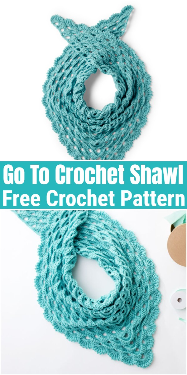 Go To Crochet Shawl