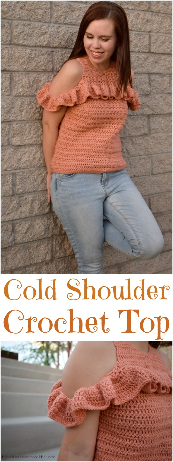 Cold Shoulder Crochet Top Pattern