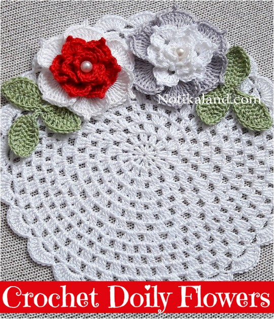 Crochet Doily Flowers