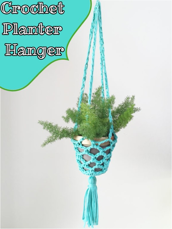 Crochet Planter Hanger