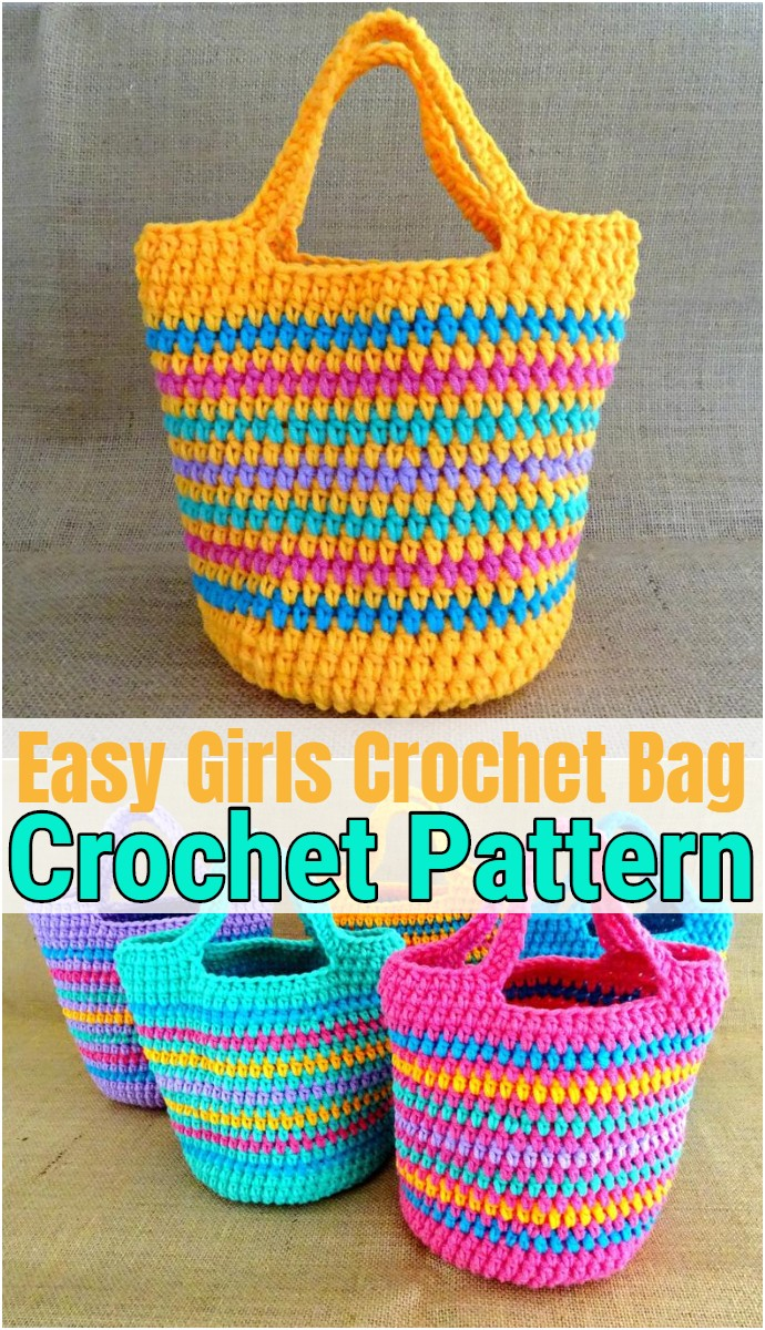 Easy Girls Crochet Bag