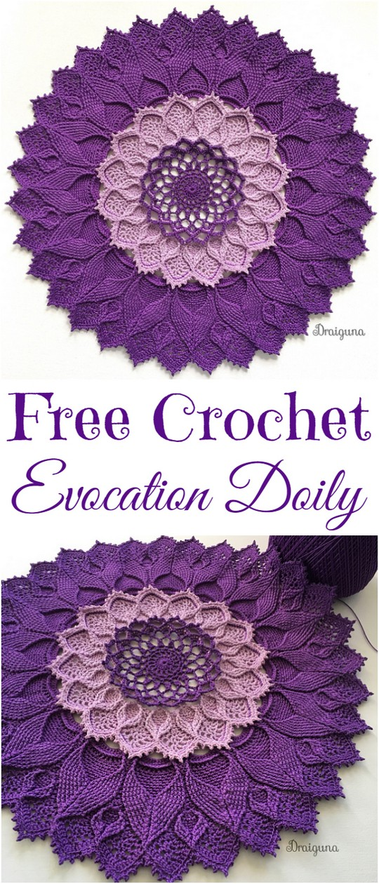 Evocation Doily Free Crochet Pattern
