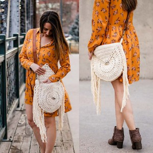 New Crochet Fringe Tide Bag