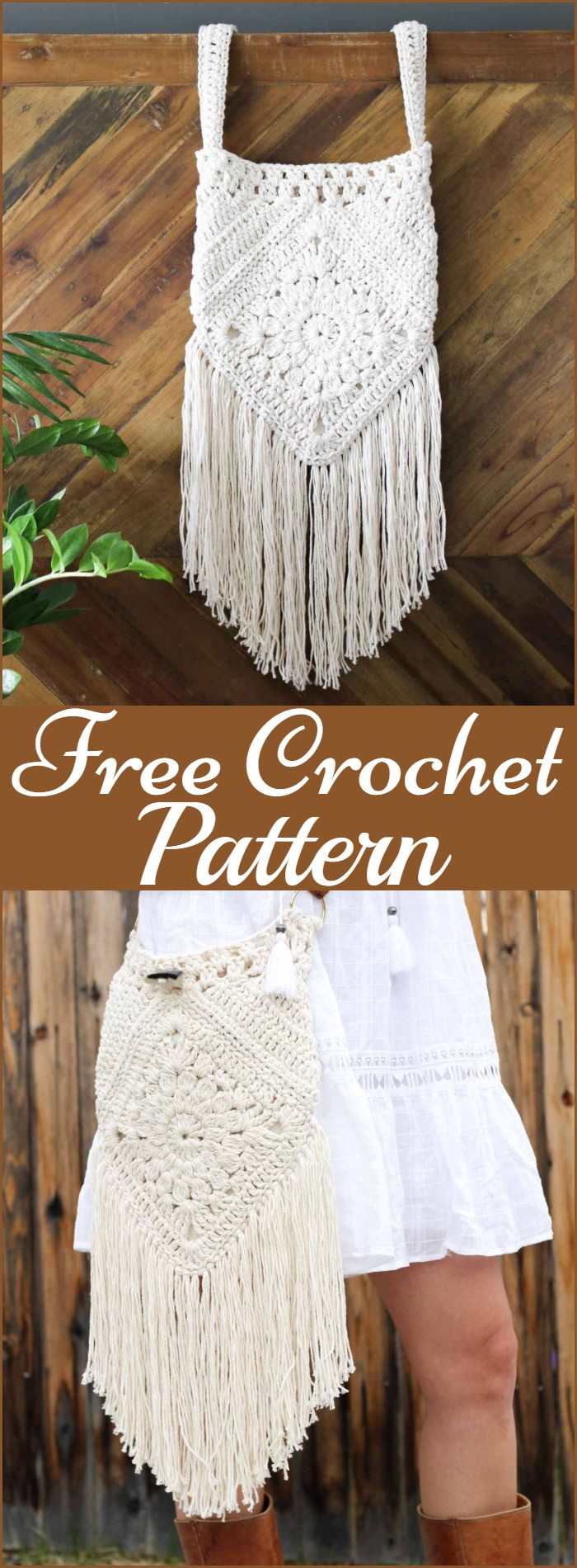 Urban Nomad Boho Bag Free Crochet Pattern