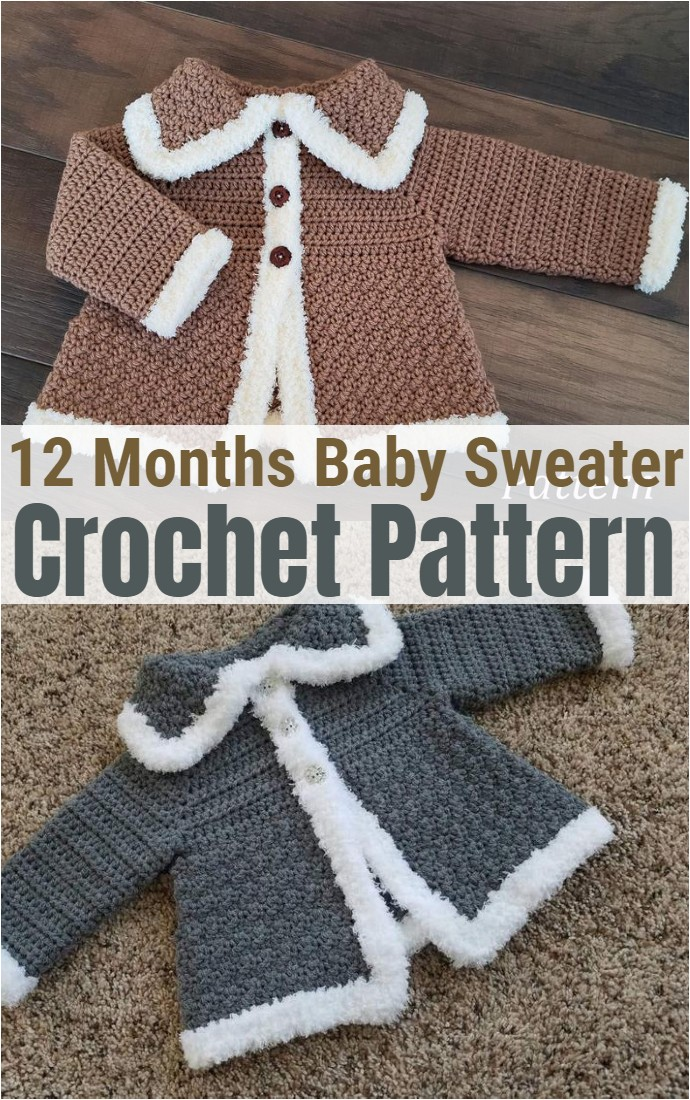 12 Months Baby Sweater