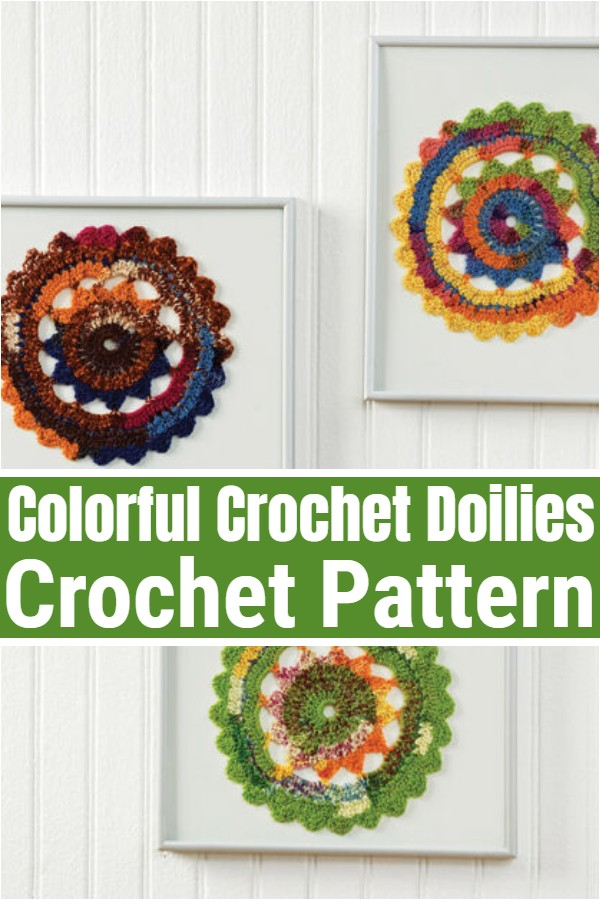 Colorful Crochet Doilies