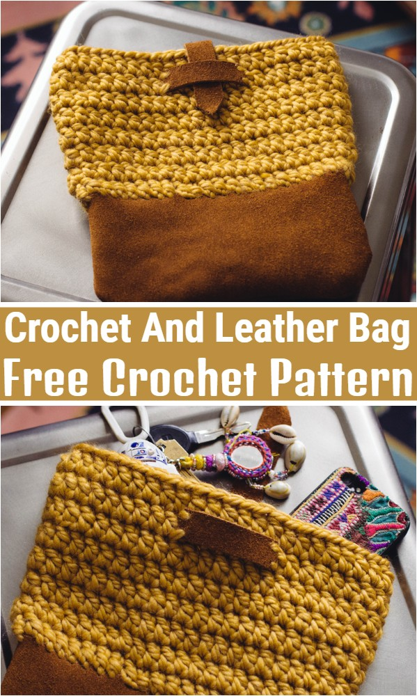 Crochet And Leather Bag Pattern