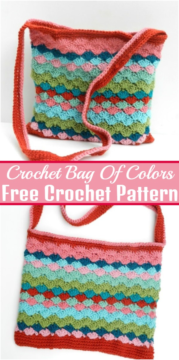 Crochet Bag Of Colors