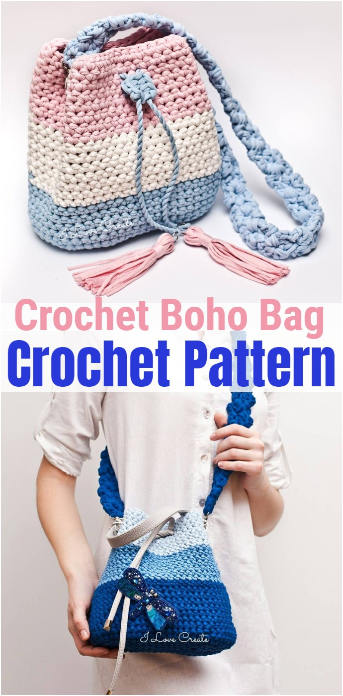 Crochet Boho Bag Pattern