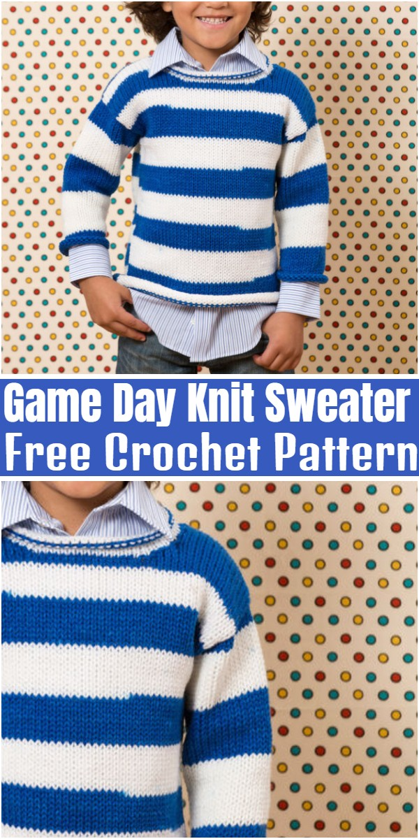 Game Day Knit Sweater