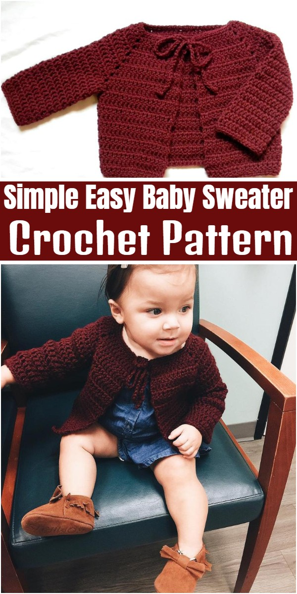 Simple Easy Baby Sweater