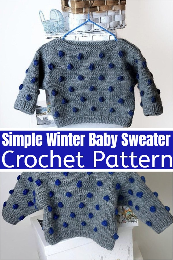 Simple Winter Baby Sweater