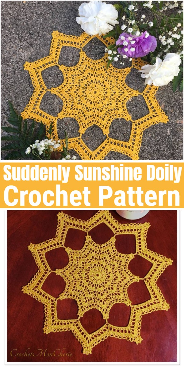 Suddenly Sunshine Doily