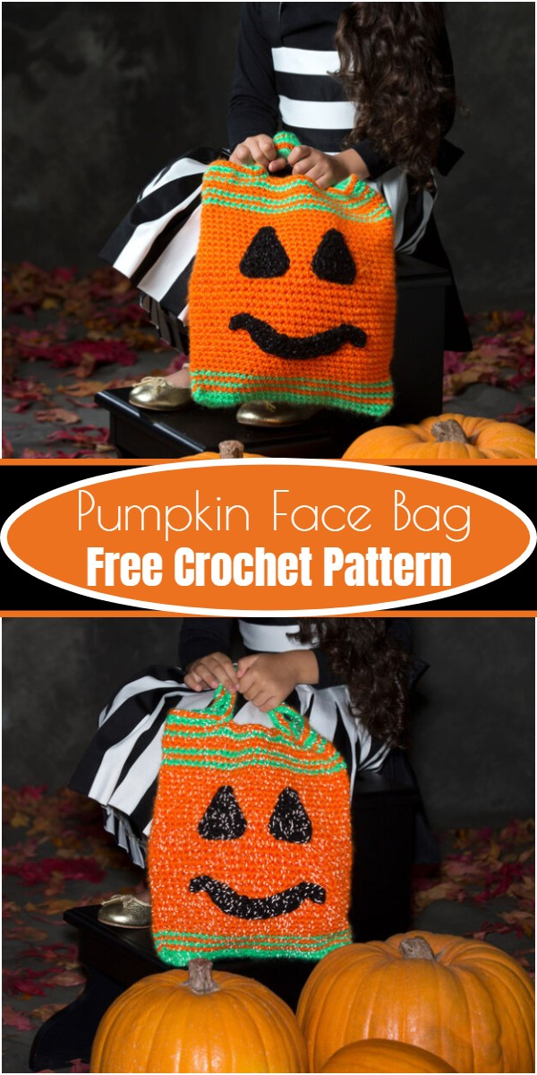 Pumpkin Face Bag