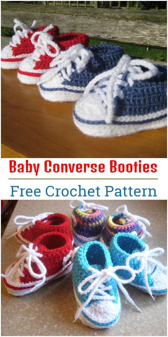 Easy And Comfortable Free Crochet Baby Booties Patterns And